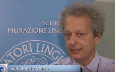 """""""Verso la qualità della traduzione"""" conferenza del prof. Bruno Osimo"""