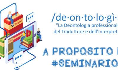 A proposito del #seminario…