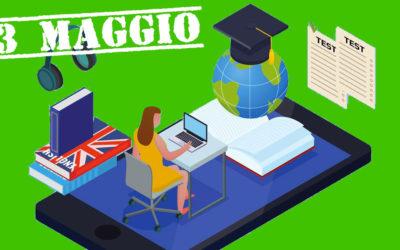 TEST AMMISSIONE ONLINE 23 MAGGIO