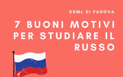 7 buoni motivi per studiare il russo