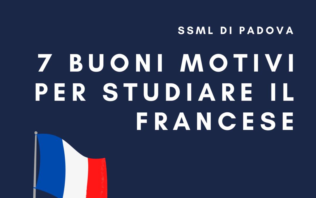 7 buoni motivi per studiare il francese