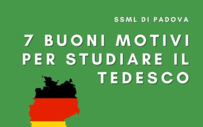 7 buoni motivi per studiare il tedesco